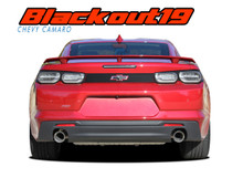 CAMARO BLACKOUT : 2019-2020 Chevy Camaro Decklid Blackout Decal Rear Trunk Vinyl Graphic Kit