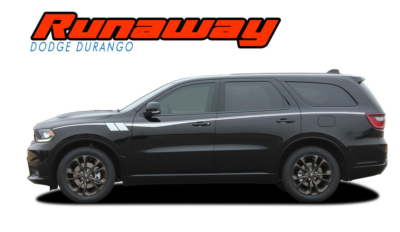 Runaway Dodge Durango Stripes Durango Decals Durango Vinyl Graphics