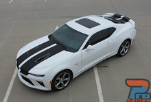 2018 Chevy Camaro Dual Racing Stripes 3M CAM SPORT 2016 2017