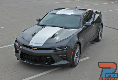 Chevy Camaro Wide Center Vinyl Graphics OVERDRIVE 2016-2018