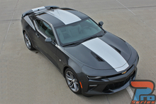 Wide Center Stripe on Chevy Camaro OVERDRIVE 2016 2017 2018