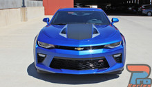 2016 Chevy Camaro Center Hood Graphics 3M HERITAGE 2017-2018