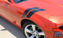 Chevy Camaro Fender Hashmark Decals 3M DOUBLE BAR 2009-2015