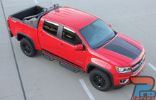 2019-2015 Chevy Colorado Hood Decals SUMMIT HOOD Kit 3M