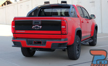 Chevy Colorado Rear Stickers GRAND TAILGATE 2015-2018 2019