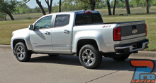 2017 GMC Canyon Side Graphics Kit RATON 3M 2015-2018 2019