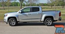 Chevy Colorado Rocker Panel Vinyl Graphics RATON 2015-2019