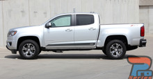 Rocker Stripes for GMC Canyon RAMPART 2015 2016 2017 2018 2019