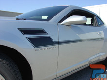 Chevy Camaro Door Side Stripe Decals 3M SPEED 2010-2015