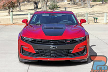 2019 Chevy Camaro Hood Stripes Vinyl Decals SHOCK HOOD