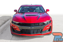 2019 Chevy Camaro Hood Graphic Stripes WIDOW HOOD STRIPES