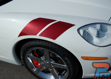 DOUBLE BAR | Chevy Corvette Fender Stripe Graphic 2005-2014