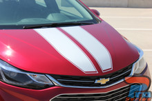 2019 Chevy Cruze Dual Racing Stripes DRIFT RALLY 3M 2016-2019