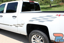 Chevy Silverado Upper Body Vinyl Graphics CHAMP 2013-2018