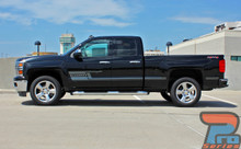 Chevy Silverado Side Decals and Stickers SHADOW 2013-2018