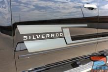 Chevy Silverado Decals and Stickers SHADOW 2013-2017 2018