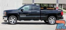 Chevy Silverado Side Graphics 3M SHADOW 2013-2017 2018