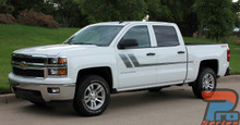 Chevy Silverado Bed Stripes Side Decals TRACK XL 2014-2017 2018