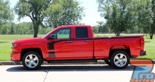 NEW! Chevy Silverado Decals FLOW Hood & Side Stripes 2016 2017 2018
