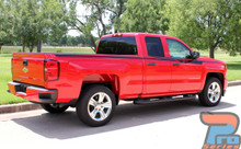 Chevy Silverado Upper Body Striping Kit ACCELERATOR 2014-2018