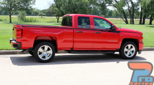 Vinyl Graphics for Chevy Silverado Truck ACCELERATOR 3M 2014-2019