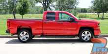 Vinyl Wrap Designs for Chevy Silverado ACCELERATOR 2014-2018