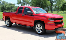 Chevy Silverado Upper Body Stripes ACCELERATOR 2014-2018