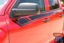 Chevy Silverado Vinyl Wrap Stripes BREAKER 2014 2015 2016 2017 2018