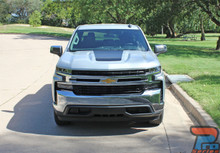 NEW! 2020 2019 Chevy Silverado Hood Decal Stripes 3M T-BOSS HOOD