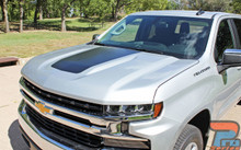 2019 2020 2021 Silverado Hood Decal Stripes 3M T-BOSS HOOD