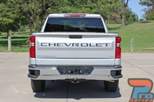 NEW! 2019 2020 2021 Chevy Silverado CHEVROLET Tailgate Letters Graphics