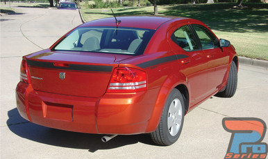 Dodge Avenger Stripe Graphics AVENGED KIT 3M 2008-2013 2014