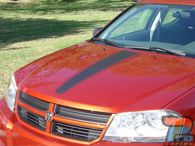 Dodge Avenger Racing Stripes AVENGED 3M 2008-2013 2014