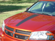 Dodge Avenger Racing Stripes AVENGED 3M 2008-2013 2014