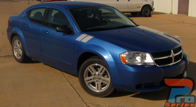 Dodge Avenger Fender Stripes DOUBLE BAR 3M 2008-2012 2013 2014