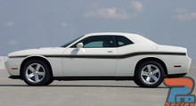 Dodge Challenger Body Line Stripe Kits 3M BELTLINE 2008-2019