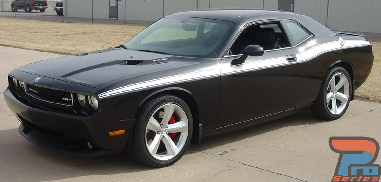 Challenger Classic RT TA and GT Side Stripes 2008 through 2019 models