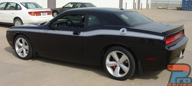 Dodge Challenger Body Side Decals CLASSIC TRACK 2010-2018 2019 2020 2021