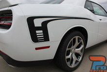 Dodge Challenger Side and Hood Stripes CUDA STROBE 2015-2021