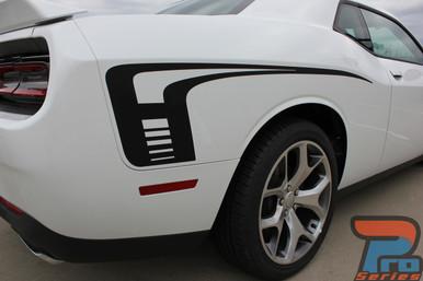 Dodge Challenger Side and Hood Stripes CUDA STROBE 2015-2021