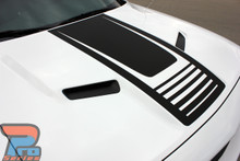 Dodge Challenger Body Rear Stripes CUDA STROBE SIDE 3M 2008-2021