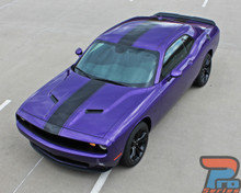 Center Racing Stripes for Dodge Challenger FINISH LINE 2011-2021