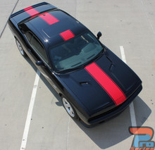 Wide Center Stripes for Dodge Challenger FINISH LINE 2011-2019