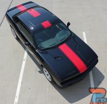 Wide Center Stripes for Dodge Challenger FINISH LINE 2011-2019