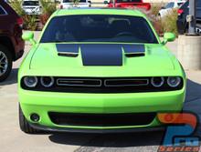 Dodge Challenger RT Hood Decals CHALLENGE HOOD 2015-2018 2019 2020 2021