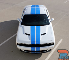 Vinyl Racing Stripes for Dodge Challenger 15 CHALLENGE RALLY 3M 2015-2021