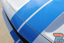 Rally Stripes for Dodge Challenger CHALLENGE RALLY 3M 2015-2021