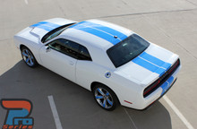 Racing Stripes for Dodge Challenger CHALLENGE RALLY 2015-2021