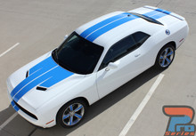 Dodge Challenger Custom Racing Stripes WINGED RALLY 2015-2019