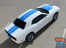 Dodge Challenger Dual Racing Stripes WING RALLY 3M 2015-2021